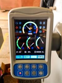 новая контрольная панель с цветным  ЖК экраном